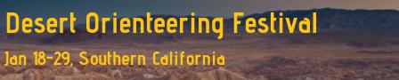 Desert Orienteering Festival 2020